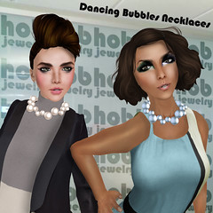 h.o.b Jewelry Launch at fi*Friday (Kristen Westwood-Rentsom (Haus.of.Boobah)) Tags: world life art fashion digital hair necklace store dancing haus bubbles jewelry coco virtual second lamb designs pearl chic cyber necklaces boobah inworld elikatira coldlogic