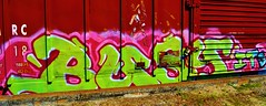 Busy ITD (Uncle Seymour Bencher) Tags: bench graffiti orlando florida busy crew freight itd bencher semor