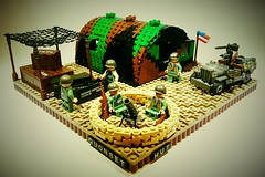 US Marines Barracks (Project Azazel) Tags: usmc google lego pacific camo pa marines ba cb quonsethut googleimages usmarines usmarinecorps brickarms willysmbjeep legomilitary gunsgunsguns legoww2 ww2lego legomarines citizenbrick projectazazel legomilitarymodel wwlllego legomilitarymodels legoquonsethut