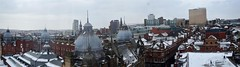 Panorama from the Leeds Observation Wheel (karldelahaye) Tags: panorama wheel nikon cityscape leeds fromabove owl bigwheel d5100 nikond5100