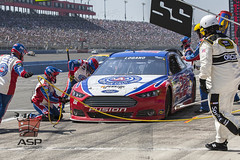 NASCAR 2013:  Sprint Cup Series Auto Club 400 MAR 24 (Walter G. Arce) Tags: auto cars ford cup sports wall club 22 automobile action stock over shell tire pit racing event stop crew 400 nascar change pr series sprint motorsports fontana speedway teamwork penske logano zsports znascar d1303acs