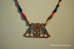 Pectoral of Sithathoryunet (konde) Tags: art necklace tomb jewelry jewellery horus ankh scarab ancientegypt cartouche pectoral middlekingdom 12thdynasty lahun sithathoryunet senwosretii shenring