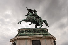 Statue Eugene de Savoie Hofburg (ivan408) Tags: hofburg austria autriche wien vienne statue eugene savoie