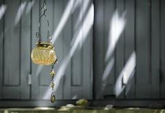 Decorative garden light (ParadoX_Design) Tags: decorative decoration garden light shutters summer home french france blue orange