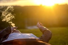 IMG_3200_00000 (tandalov.com) Tags: girl ukrainian belarus smoke smoking sunny sun sunshine chill 2016 trip grass green