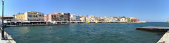 20160708_001 (a1pha_gr) Tags: greece chania   panorama        sea buildings port sky lighthouse waterfront  venetianport crete
