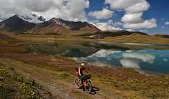 Biking round Tolpar Kol