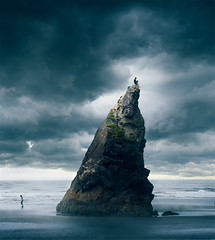 Ruby Beach (loganzillmer) Tags: conceptualimage conceptualphotography fineartphotography rubybeach
