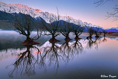 0S1A2685enthuse (Steve Daggar) Tags: glenorchy newzealand sunrise landscape mountains snowcappedmountains reflections reflection lake queenstown