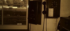 Memory Line... (Keith Wilko) Tags: tawvalley kidderminster kidderminsterstation kidderminstersvr kidderminsterrailwaymuseum 34027 loco34027 sepia oldtrain oldtrains trains railways oldphones telephones loco locomotive steamengine bullied bulliedpacifics southernrailway severnvalleyrailway svr svrloco svrlocomotives svrtrains oldworld thepast backintime oldandnew