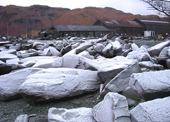 Patterdale, frost on the rocks (nick taz) Tags: frost rocks stones patterdale winter cold january lakedistrict