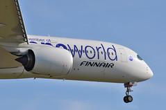 'AY2NC' (AY0831) HEL-LHR (A380spotter) Tags: approach landing arrival finals shortfinals threshold undercarriage landinggear nosegear rollsroyce trentxwb trentxwb84 turbofan engine powerplant airbus a350 a350xwb xtrawidebody extra 900 ohlwb oneworld oneworldalliance memberofoneworld logojet livery scheme colours finnair fin ay ay2nc ay0831 hellhr runway09l 09l london heathrow egll lhr