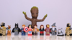 IMG_0748 (Latent Memory) Tags: lego minifigures superheroes captainamerica batman groot drwho dalek