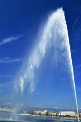 Jet d'eau de Genve (JBGenve) Tags: suisse switzerland genve geneva lac lake extrieur ciel sky eau water ville city jetdeau