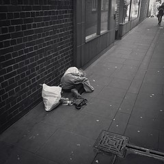 The Dreams of Children (Livesurfcams) Tags: homeless bigissue poverty exeter apple iphone poor street pavement sleeping donate