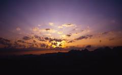 Sunset from Vire des AllemandsBivouac, Petit Dru (andywalker1) Tags: andrewwalker americandirect dru petitdru chamonix alps alpineclimbing