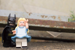 Swoon (237:366) (Lost Star) Tags: 366the2016edition 3662016 day237366 24aug16 lego batman alice disney minifigures