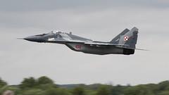 RIAT 2016_MiG29_01 (andys1616) Tags: mikoyan mig29 fulcrum 1eskadralotnictwataktycznego 1sttacticalfightersqn polishairforce royal international airtattoo raffairford gloucestershire july 2016