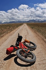 Heading for Lenin basecamp, Alay Valley