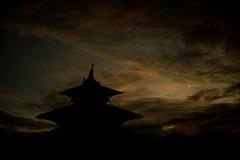Patan Sunset (Crossing China) Tags: nepal kathmandu ktm travel travelphotographer portrait street streetphotography streetportrait himalayas mounteverest mountains mountain mountainflight shadow girl cute nepali nepalese sunset