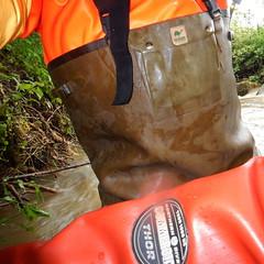 Chameau-Thor-Bach5921 (Kanalgummi) Tags: rubber waders chestwaders gummihose gummianzug drysuit trockenanzug sewer worker égoutier kanalarbeiter