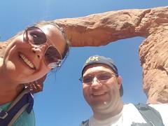 Dorks at Turret Arch (jamelah) Tags: southwestadventure archesnationalpark moab utah hike hiking turretarch windowstrail eleventybilliondegrees