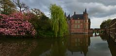 Pays-Bas -  chteau de Heeswijk (AlCapitol) Tags: paysbas chteaudeheeswijk chteau castle heeswijk douves eau water reflet nikon d800 reflection
