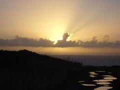 Sunset (lcfcian1) Tags: sunset sky clouds cornwall puddles footpath mullion predannack cornishsunset