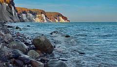 Germany; Insel Rgen; Kreidefelsen (blacky_hs) Tags: sea island see nationalpark baltic insel ufer rgen ost kreidefelsen sassnitz wissower jasmund