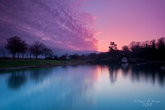 Blackrock Park (Paul O'B) Tags: longexposure ireland dublin lake nature water landscape blackrock d90 borderfx