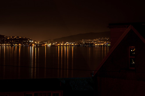 Swansea at night