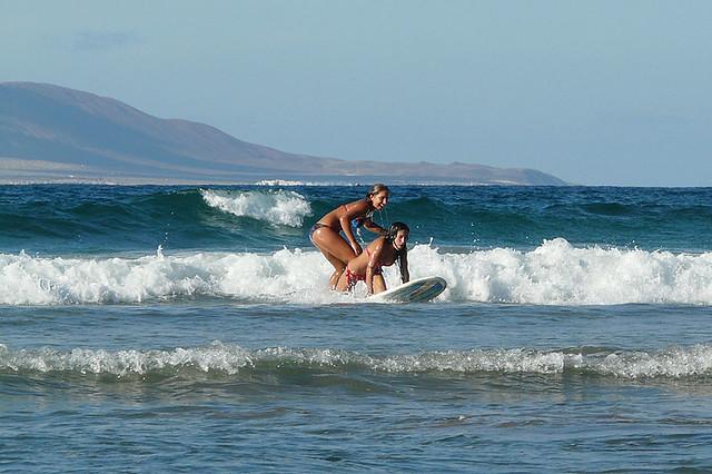 ... Surf Class - Famara Beach f2b8cd4ad31