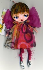 Bitzy009 (Frilled Daisy) Tags: dolls ornaments handpainted fabris