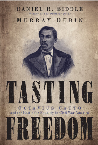 Tasting Freedom will be available for signing by the author, Daniel R. Biddle.