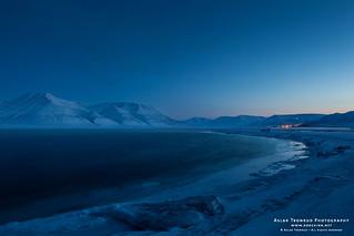 Noon at Svalbard