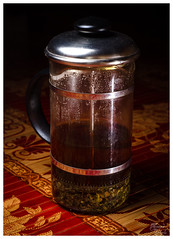 Day 26 - Oh honey (DJorgensen) Tags: photo tea drink beverage frenchpress herbaltea teafortwo dorisday project365