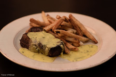 Steak Barnaise (trevorhpittman) Tags: food nikon frites frenchfries fries steak nikkor steakfrites bernaise bernaisesauce barnaisesauce barnaise d3100 afs85mmf18g
