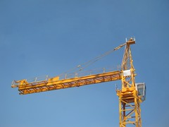 POTAIN TOWERCRANE(1:50 SCALE MODEL)