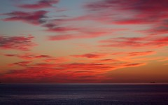 Alba, mar Mediterrneo /Dawn, Mediterranean Sea  08.02.13 (Jos Rambaud) Tags: sky sunrise skyscape dawn mediterraneo alba amanecer cielo straitofgibraltar estrechodegibraltar rememberthatmomentlevel4 rememberthatmomentlevel1 rememberthatmomentlevel2 rememberthatmomentlevel3