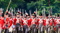 """""""Right Form"""" (Etrusia UK) Tags: uk greatbritain costumes england history festival infantry geotagged soldier army nikon zoom unitedkingdom britain widescreen northamptonshire sigma places telephoto gb historical muskets subject recreation orders 70300mm reenactors redcoats drill shouting sergeant englishheritage sigmalens festivalofhistory 70300mmlens sigma70300mm d80 sigma70300mmlens nikond80 kelmarshhall geo:lat=52411949 geo:lon=0923924"""