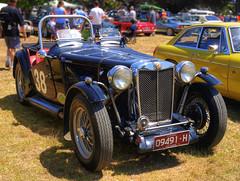 1938 MG T.A. (54 Ford Customline) Tags: 1938 mg classics mornington oldcars hdr classiccars cs4 racv photomatix racvgreataustralianrally 1938mgta veteranvintage 38mg