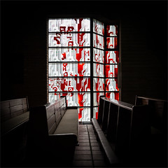 51/365 - christ's resurrection (polomar) Tags: light church window architecture modern zeiss 35mm project licht flickr sony kirche cologne kln explore nails architektur 51 365 projekt zeit bnke ngel bhm gottfriedbhm rx1 kirchenarchitektur metime 51365 christiauferstehung polomar christsresurrection ichzeit