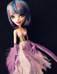 Amelia in Vera Fang (tuneful87) Tags: monster high cam amelia create harpy flockhart