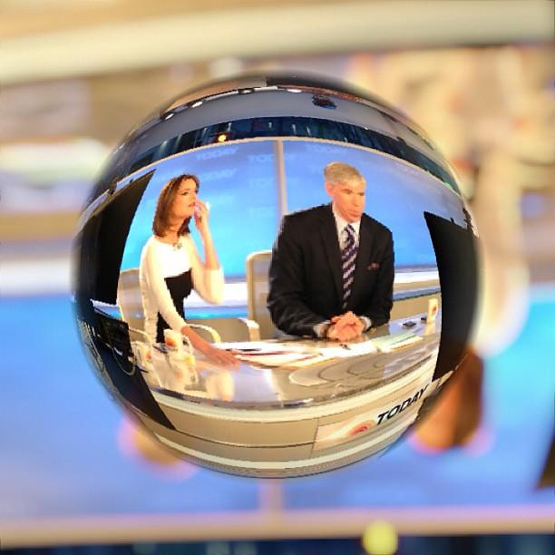 Marblecam! Inside @todayshow #SteveInToday