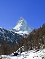 Matterhorn (Brett Ritzmann) Tags: winter mountain alps trekking landscape switzerland hiking zermatt matterhorn nikond7000 nikkor40mm brettritzmann