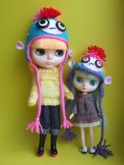 Punky Monkey hats :)