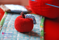 Crochet apple patterns Isabelle Kessedjian (OltreversoLab) Tags: apple manzana crochet isabelle pomme mela croche uncinetto kessedjian