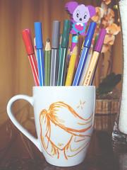 One more (Amanda de Souza Albuquerque) Tags: pencil mug pens lpis canetas caneca
