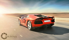 Lamborghini Aventador LP700-4 (Tareq Abuhajjaj | Photography & Design) Tags: auto lighting light red italy orange sun moon white black cars car sport speed photography design photo high nice nikon flickr power top fast gear turbo arab saudi arabia rims panning lamborghini riyadh tracking  2010 v12 ksa tareq    d700 dhia aventador tareqdesigncom tareqmoon tareqdesign  abuhajjaj  lp700 tareqph yellowsaudi ggg070