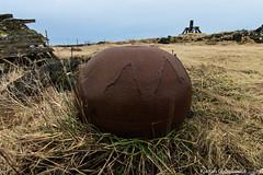 Old trawl iron ball (Kjartan Gumundur) Tags: canon iceland tokina sland garur 650d tokina1116 tokina1116mmf28atx116prodx canoneos650d kjartangumundur